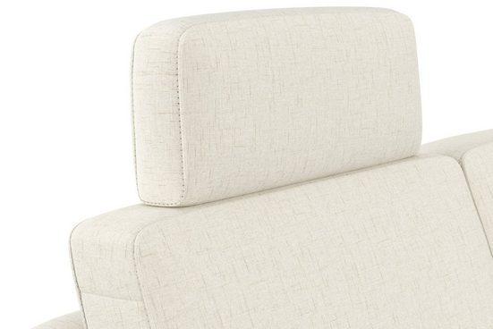 """sit&more Kopfstütze »Visby V«, (Set-2), auch erhältlich in dem besonders leicht mit Wasser zu reinigendem """"Soft clean"""" Bezug"""