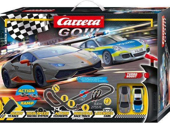 Carrera® Autorennbahn »Carrera GO!!! - Catch me« (Streckenlänge 8,4 Meter)