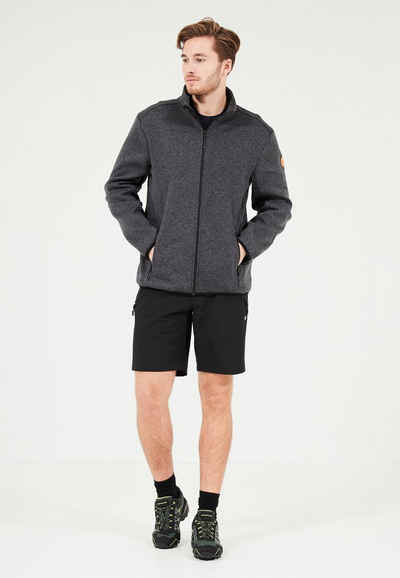 WHISTLER Fleecejacke »Sampton M Melange Fleece Jacket« aus schnell trocknenden Materialien