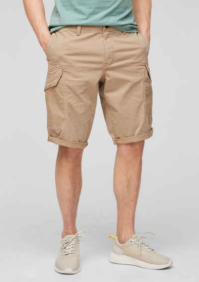 s.Oliver Shorts »Relaxed Fit: Baumwoll-Bermuda« (1-tlg) Waschung