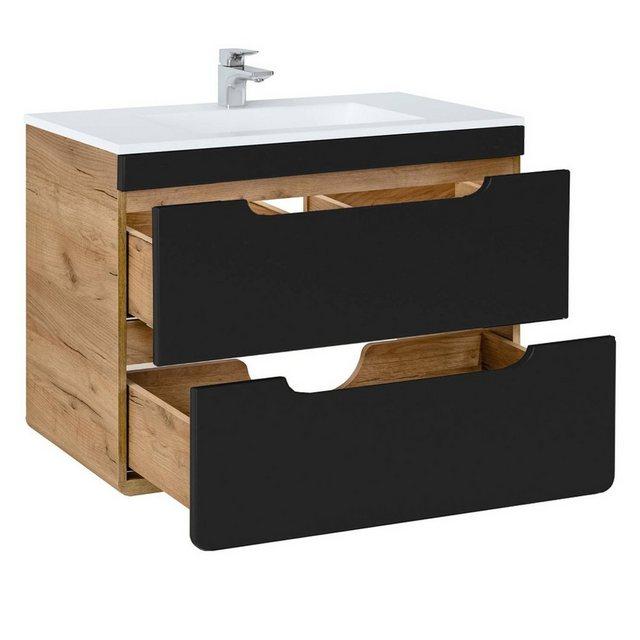Badezimmer Sets - BADELO Badmöbel Set »NEW LUTON«, (Spar Set, 5 tlg)  - Onlineshop OTTO