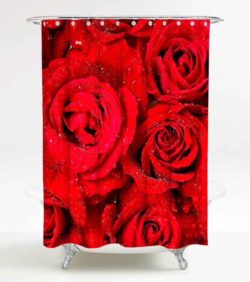 Sanilo Duschvorhang »Rosen« Breite 180 cm, Höhe 200 cm