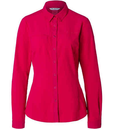 VAUDE Blusentop »VAUDE Rosemoor Bluse umweltschonend produzierte Damen Wander-Bluse Lifestyle-Bluse Pink«