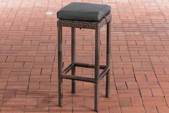 CLP Gartenstuhl »Alia 5mm« mit Aluminiumgestell und Sitzhöhe von 75 cm