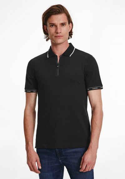 Calvin Klein Poloshirt »Brabded Zipper«