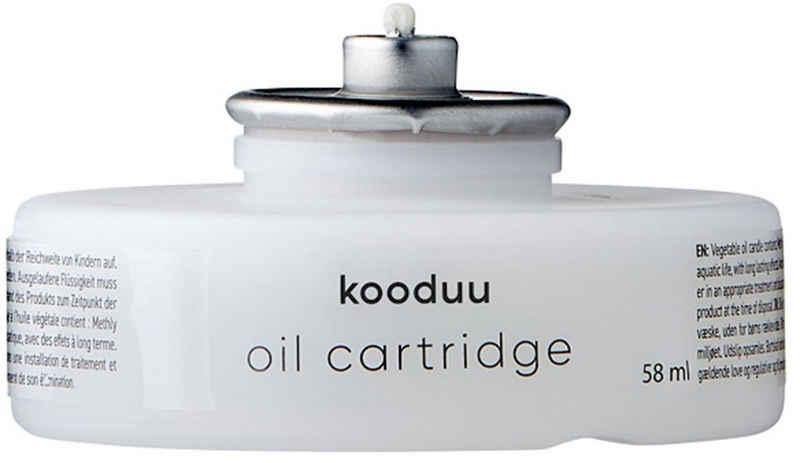 kooduu Teelicht »Öl-Kartusche / Öl-Lampe« (Set, 6-tlg), passend für kooduu Glow und kooduu Nordic Light Pro