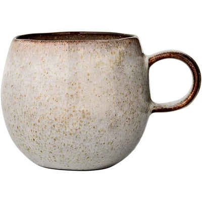 Bloomingville Tasse »Sandrine«, 500 ml Kaffeetasse, Teetasse, Kaffeepot, Kaffeebecher, Becher, Keramik, Steingut