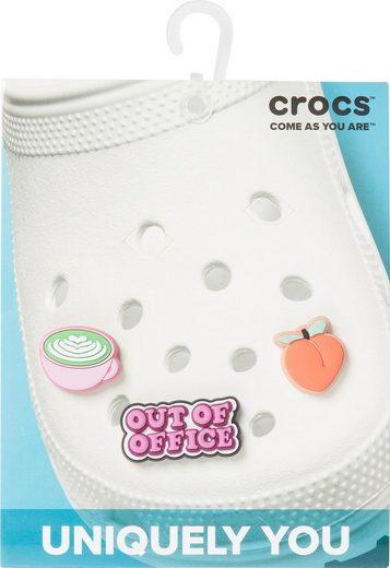 Crocs Schuhanstecker »Jibbitz™ Downtime« (Set, 3-tlg., Kein Spielzeug. Nicht für Kinder unter 3 Jahren geeignet), zum anstecken