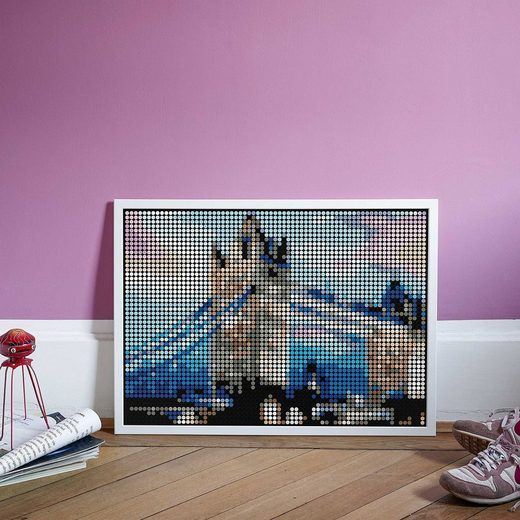 Dot On Malvorlage »dot on art XL – tower bridge, 50 x 70 cm«
