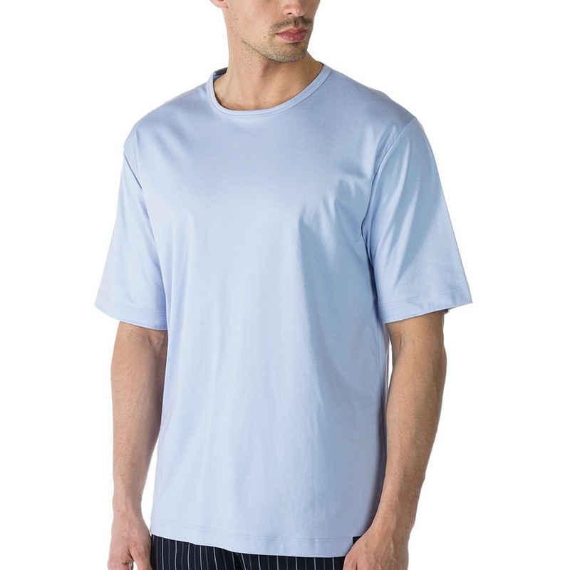 Mey Pyjamaoberteil »Basic Lounge Nightwear Mix & Match« Shirt 1/2 Arm - Rundhalsauschnitt, Kurzarm, Natürliches Tragegefühl