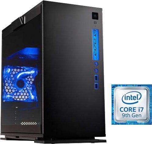 Medion® ERAZER X87081 Gaming-PC (Intel Core i7, RTX 2070 SUPER VENTUS, 16 GB RAM, 1000 GB SSD, Luftkühlung, inkl. Office-Anwendersoftware Microsoft 365 Single im Wert von 69 Euro)