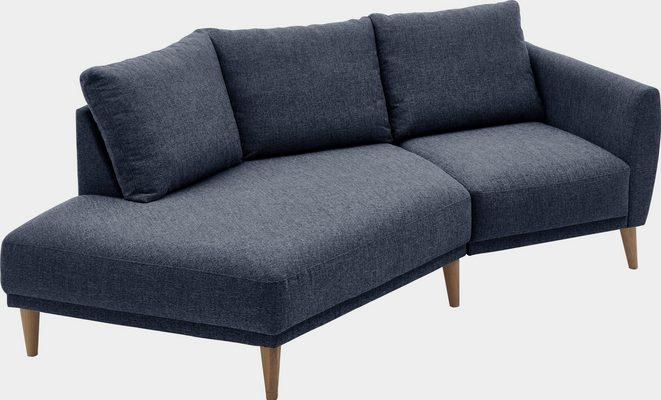 2,5-Sitzer »Elvis«, Polsterecke mit offenem Ende im skandinavischen Stil