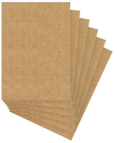 URSUS Kraftpapier »Menükarten«, 6 Stück