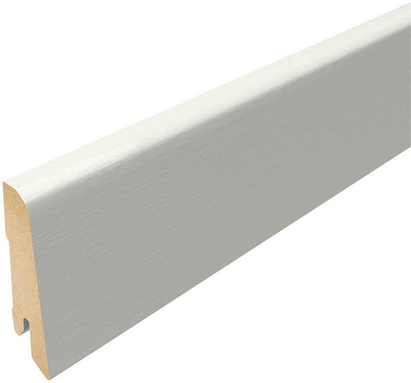 EGGER Sockelleiste »L201 - Weiß«, L: 240 cm, H: 6 cm