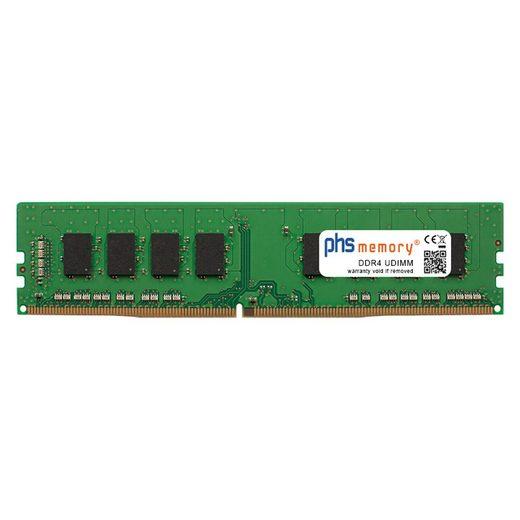 PHS-memory »RAM für Aquado Silent PC COMPETENCE i7-CAD-SSD v03« Arbeitsspeicher