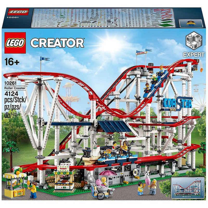 LEGO® Konstruktions-Spielset »LEGO® Creator Expert 10261 Achterbahn«