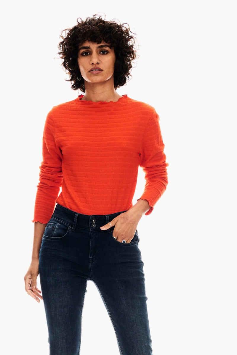 Garcia T-Shirt »GS000805« mit Rollkragenpullover