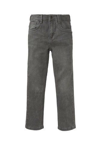 TOM TAILOR Straight-Jeans »Matt Džinsai su Knitte...
