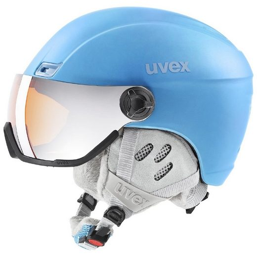 Uvex Skihelm »hlmt 400 visor style«