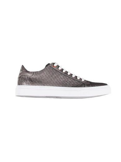 emilio adani »Sommer-Schuh mit geprägtem Leder« Sneaker