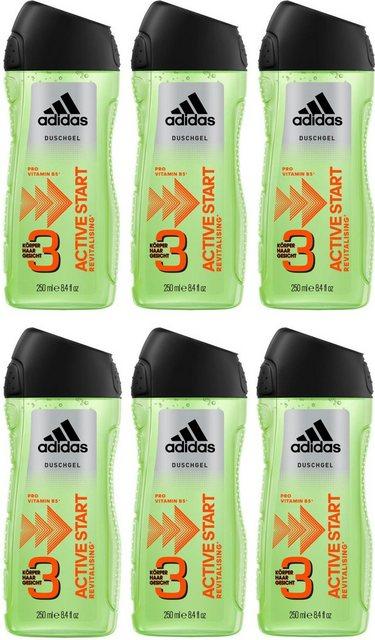 adidas Performance Duschgel »Active Start 3in1«, 6-tlg., für Männer