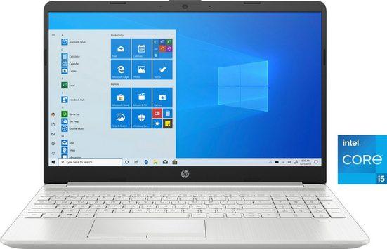HP 15-dw3205ng Notebook (39,6 cm/15,6 Zoll, Intel Core i5, GeForce MX350, 512 GB SSD, Kostenloses Upgrade auf Windows 11, sobald verfügbar)