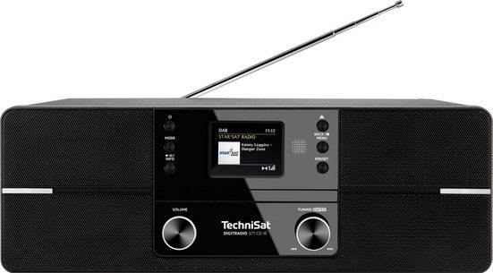 TechniSat »DIGITRADIO 371 CD IR Stereo« Internet-Radio (UKW mit RDS, Digitalradio (DAB), mit DAB+, CD, Bluetooth, Farbdisplay, USB)