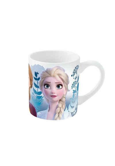 Disney Frozen Tasse »Eiskönigin Anna & Elsa, Olaf Premium Porzellan Tasse Becher«, im Geschenkkarton