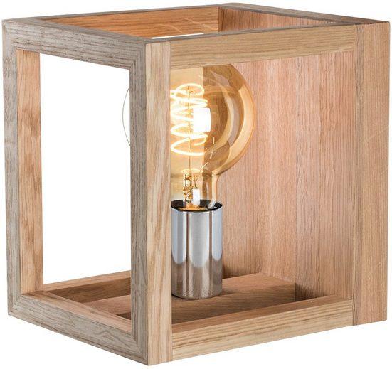 SPOT Light Deckenleuchte »KAGO«, Naturprodukt aus Eichenholz, Nachhaltig mit FSC®-Zertifikat, passende LM E27, Made in EU