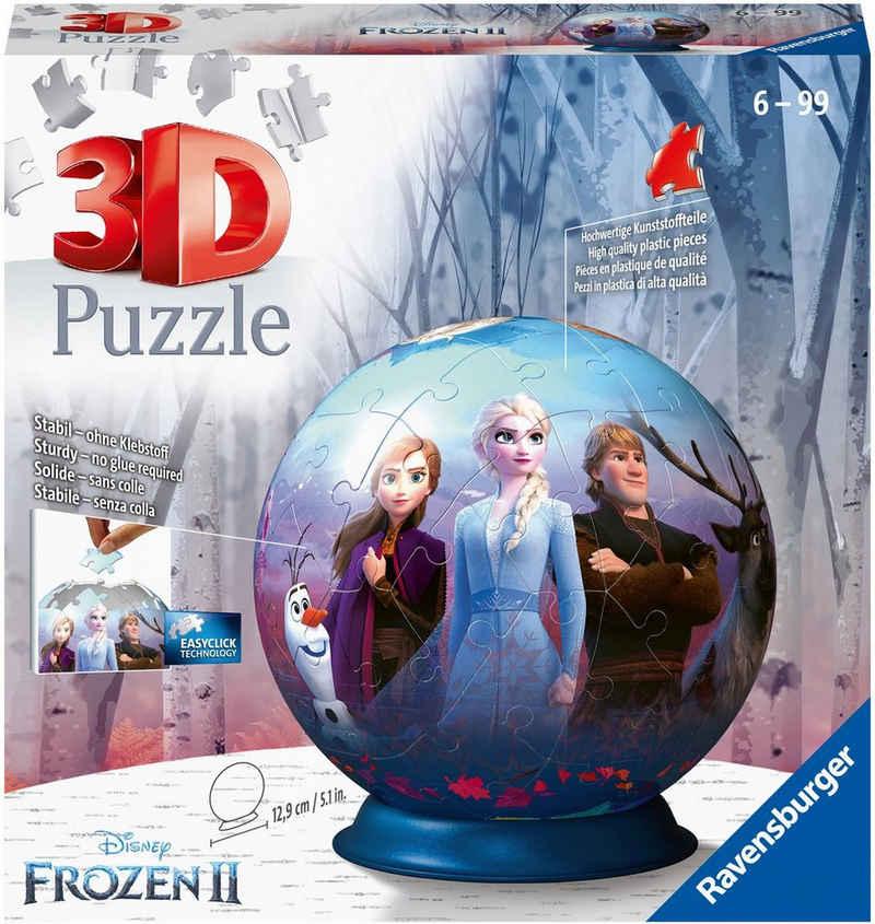 Ravensburger Puzzleball »Disney Frozen II«, 72 Puzzleteile, Made in Europe, FSC® - schützt Wald - weltweit