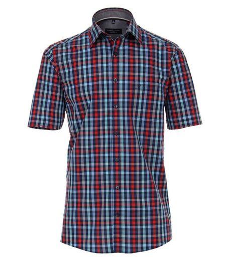 CASAMODA Langarmhemd »Hemd mit modischem Druck« Button-down
