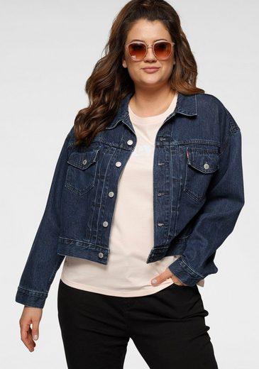 Levi's® Plus Jeansjacke mit zwei großen Brusttaschen