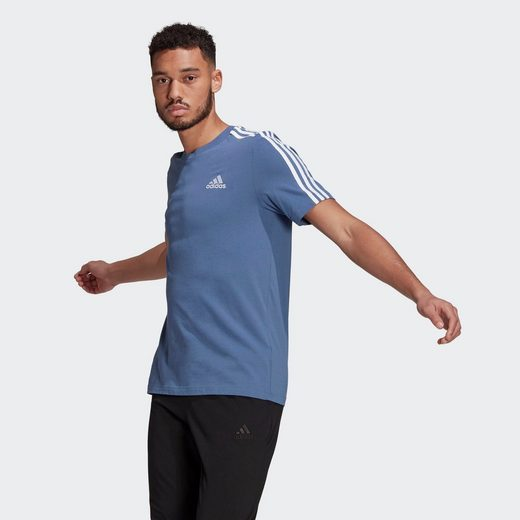adidas Performance T-Shirt »ESSENTIALS 3-STREIFEN«
