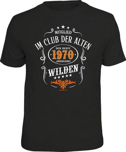 Rahmenlos T-Shirt mit coolem Print »50. Geburtstag«