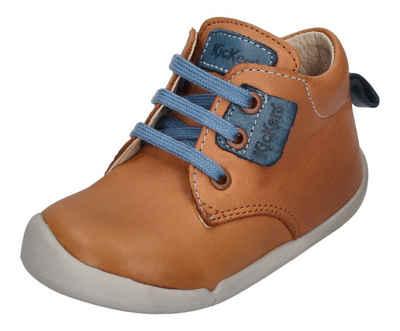 Kickers »WAZZAP 858400-10-116« Lauflernschuh camel bleu