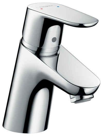 hansgrohe Waschtischarmatur »Focus 70« Wasserhahn mit Klick Klack Push Open Ablauf