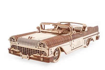 UGEARS 3D-Puzzle »UGEARS Holz 3D-Puzzle Modellbausatz TRAUM CABRIOLET VM-05«, 739 Puzzleteile