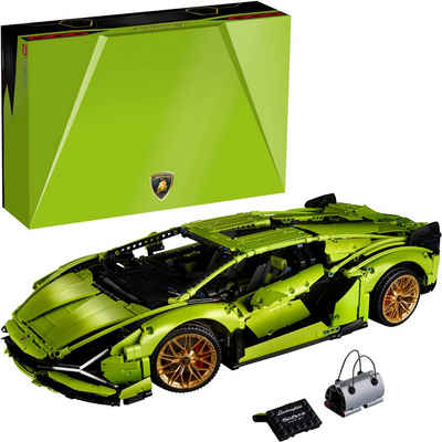LEGO® Konstruktionsspielsteine »Lamborghini Sián FKP 37 (42115), LEGO® Technic«, (3696 St), Made in Europe