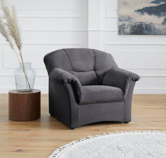 DOMO collection Sessel »Sarafina«, wahlweise mit Federkern