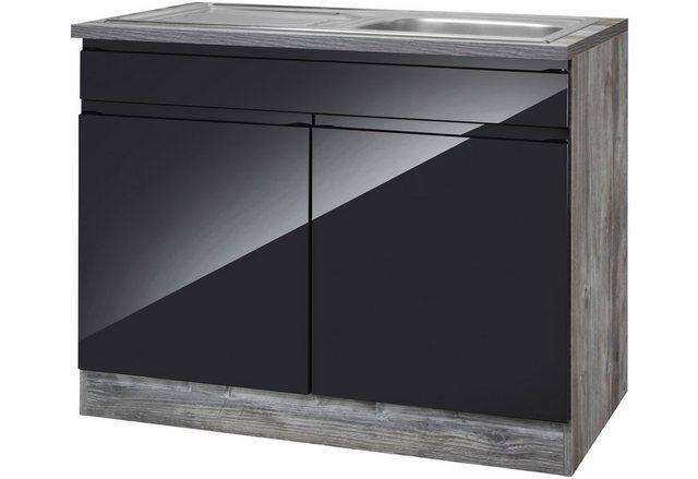 HELD MÖBEL Spülenschrank »Virginia, Breite 100 cm«   Küche und Esszimmer > Küchenschränke > Spülenschränke   HELD MÖBEL
