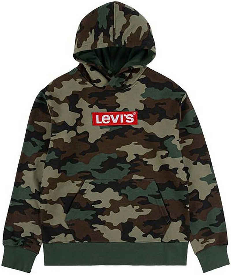 Levi's Kidswear Kapuzensweatshirt »in coolem Tarnmuster«