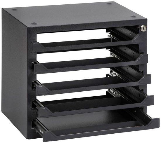 RAMSES Organizer, für Sortimentskästen, 39x25,5x36 cm, 5 Fächer