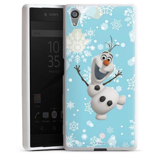 DeinDesign Handyhülle »Frozen Olaf« Sony Xperia Z5, Hülle Frozen Olaf Disney Offizielles Lizenzprodukt