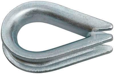 Ramses Schraubhaken Gerade mit Schlitz  5,7x65//30mm Stahl verzinkt  50 Stück