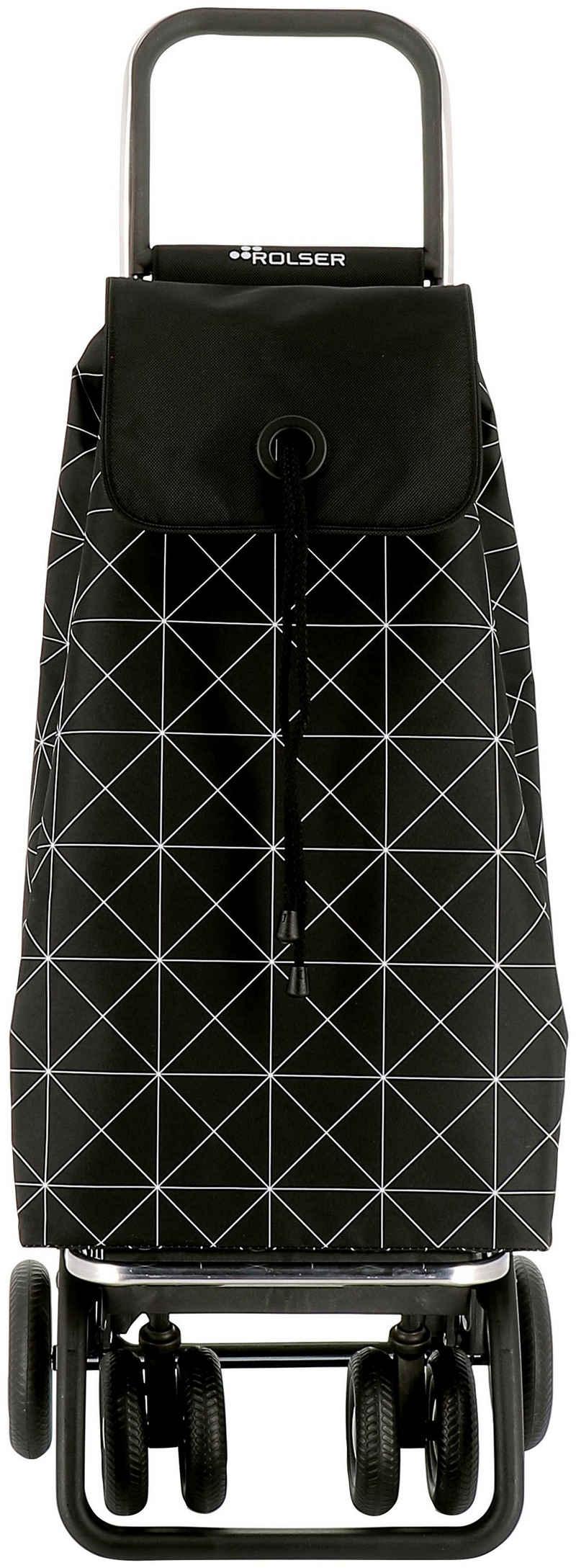 Rolser Einkaufstrolley »Logic Tour I-Max Star«, 43 l, in verschiedenen Farben, Max. Tragkraft: 40 kg, Tasche abnehmbar