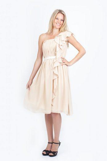 AvaMia Cocktailkleid »AvaMia-Kleid-3441« Cocktailkleid, Festliches Chiffon Abendkleid, Chiffonkleid, Kleid, Länge knielang