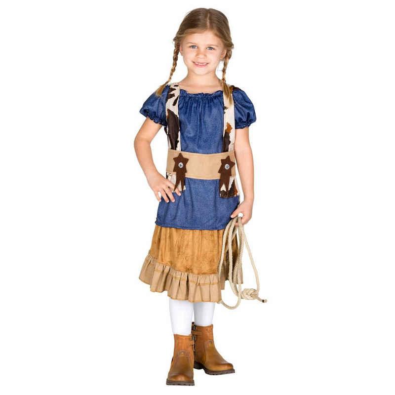 dressforfun Cowboy-Kostüm »Mädchenkostüm Cowgirl Wynonna«