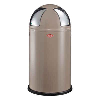 WESCO Mülltrennsystem »Push Two Warm Grey 2 x 25 L«