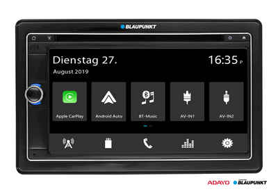 Blaupunkt Audio-System (BLAUPUNKT MÜNCHEN 790 DAB, Bluetooth / DAB+, USB, Apple CarPlay Android Auto 2-DIN Autoradio)