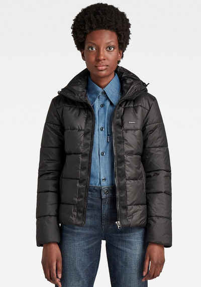 G-Star RAW Steppjacke »Meefic hdd pdd jacket« mit abnehmbarer Kapuze, Kinnschutz und Kordelzug